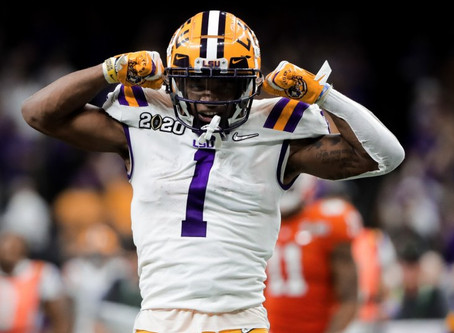 The best receiver of the 2021 NFL draft.