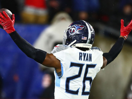 Logan Ryan can provide immediate depth