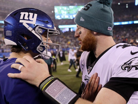 Daniel Jones over Carson Wentz? Who is a better quarterback?