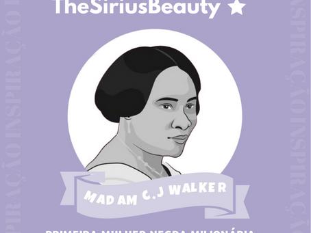 Inspiração ✨ Madam C.J Walker: a primeira mulher negra milionária da América