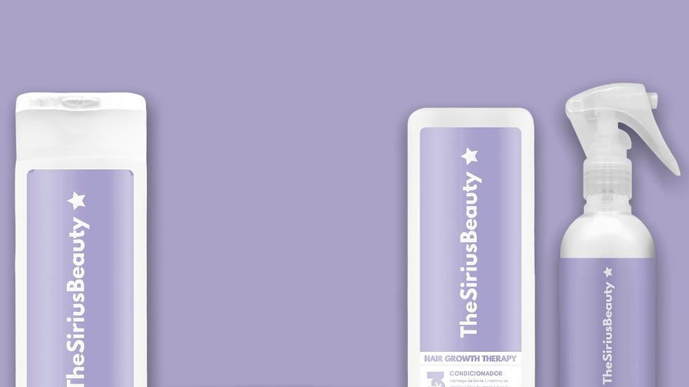 Kit de Tratamento Capilar Hair Growth Therapy