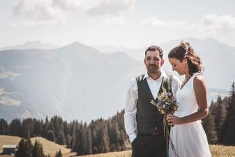 Berghochzeit Graubünden