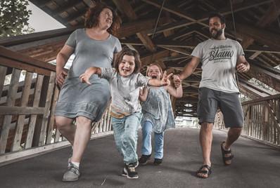 Dokumentarische Familienfotografie Winterthur