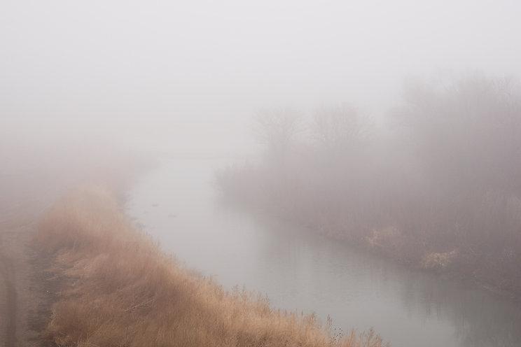 Arkansas River in the Fog.jpg