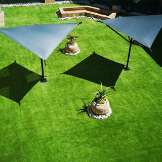 Social Area Renovation with Artificial Grass