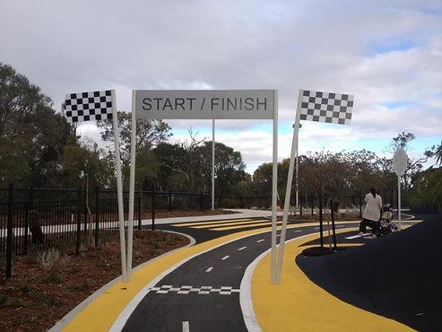 Bike Race Track