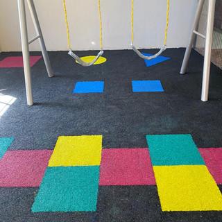 Indoor Playground Design with Rubber Flooring