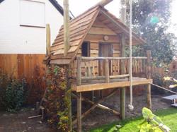 Een tuinhuisje voor de kleintjes