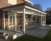 veranda, vlonders door Tuintec