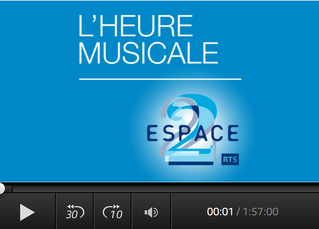 L'HEURE MUSICALE avec RTS