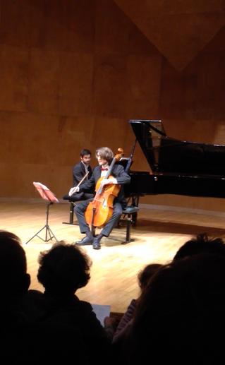 Soiree Freshly Composed- Salle Cortot avec Pedro Sperandio