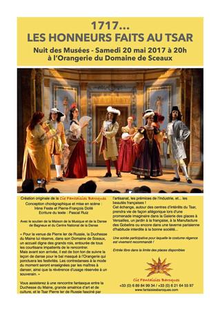 Quelques dates avec la Cie Fantaisies Baroques !