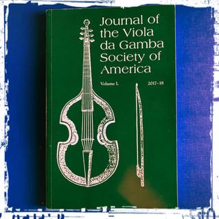 Journal of the Viola da Gamba Society of America