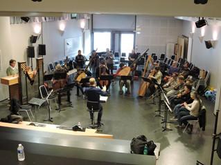 Répétitions avec François Bazola