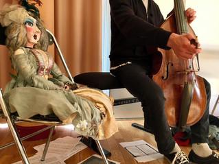 répétition pour la Cie Fantaisies Baroques