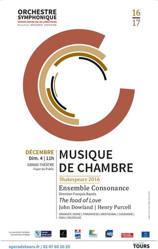 MUSIQUE DE CHAMBRE // TOURS 4.12.16