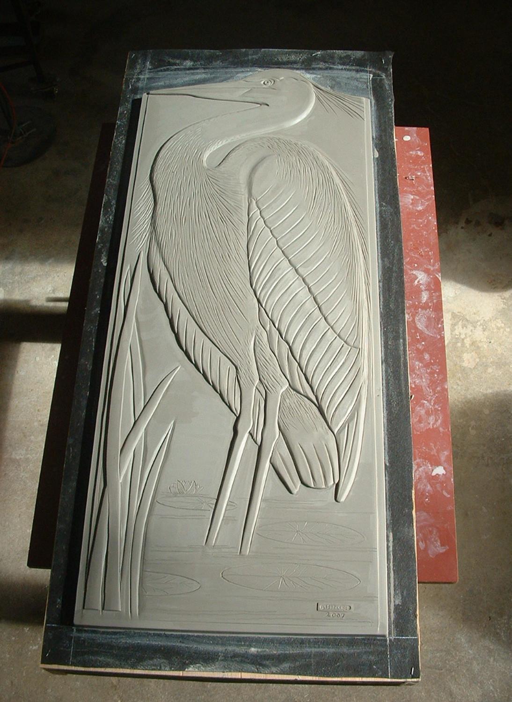 Audubon Donor Wall Clay Model