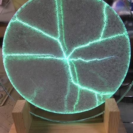 Plasma Neon Art Glass