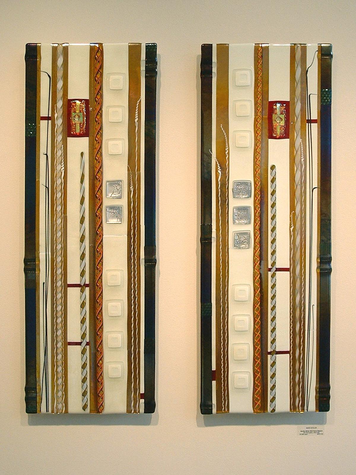 Fused Glass Wall Panels For Sale | Mark Ditzler Glass Studio