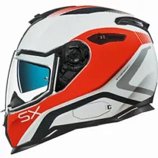 Nexx SX100 PopUp Orange Helmet