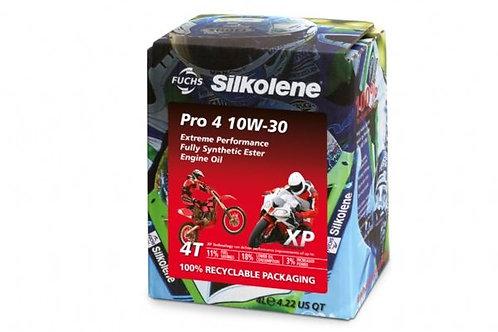 Silkolene Pro 4 10w/30 XP 4 Litres Pro Fully Synthetic