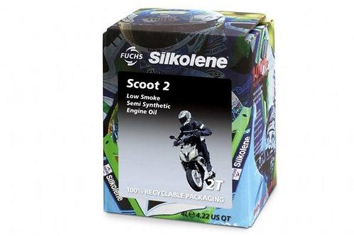 Silkolene Scoot 2 2 Stroke Oil 4 Litre