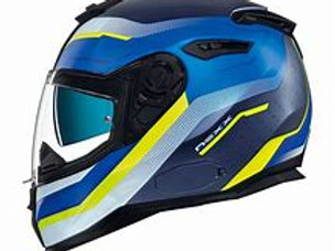 Nexx SX100 Blue & Yellow Helmet