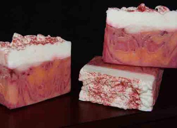 Peach Cobbler Handmade Soap