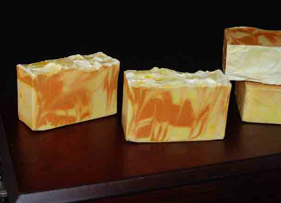 Saffron and Honey Handmade soap