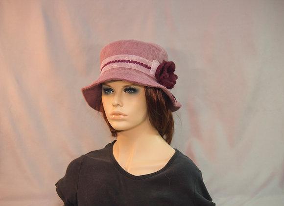 Soft Lilac & Rose Hat