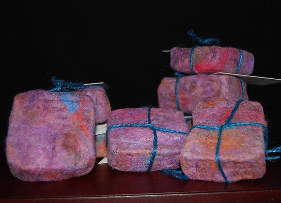 Alpaca Felted Handmade soap