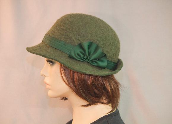 Great Gatsby Green Cloche