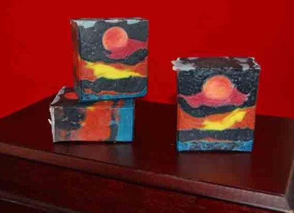 Bad Moon Rising Handmade Soap