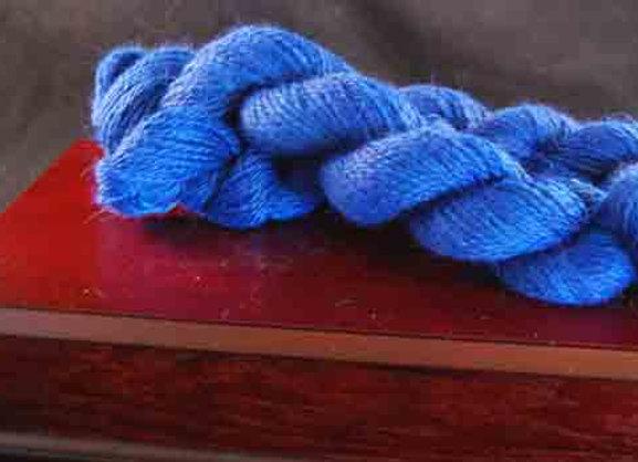Royal Blue Yarn