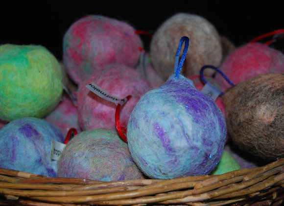 Felted Ornament Soap Trio (Kid Friendly)