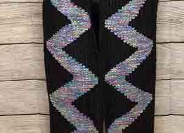 Pearlescent River Scarf