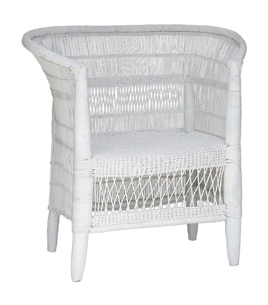 White Malawi Chair