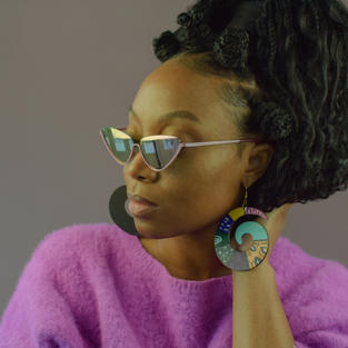 Styling Bold Colorful Earrings