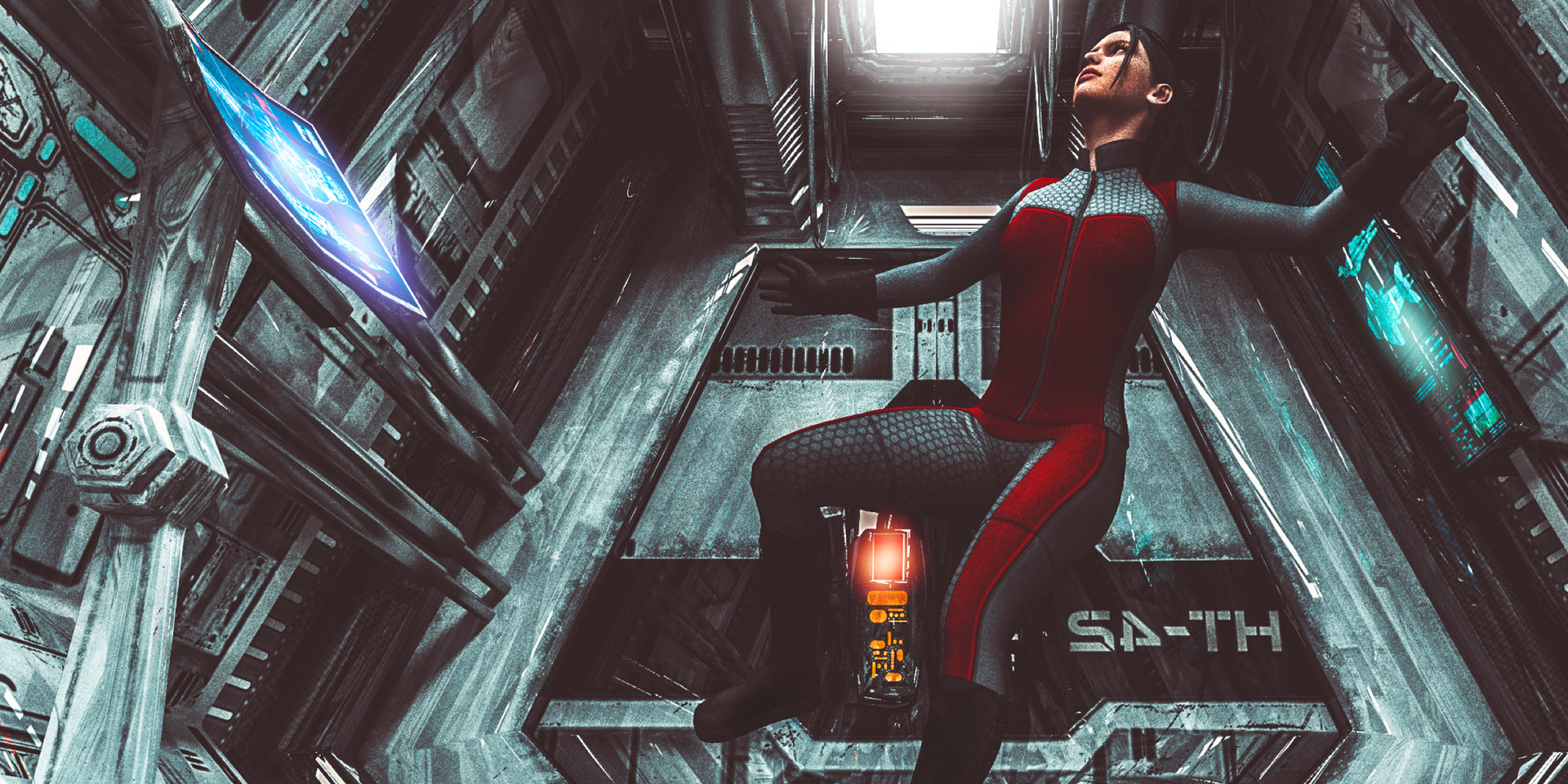 Space Tech Render