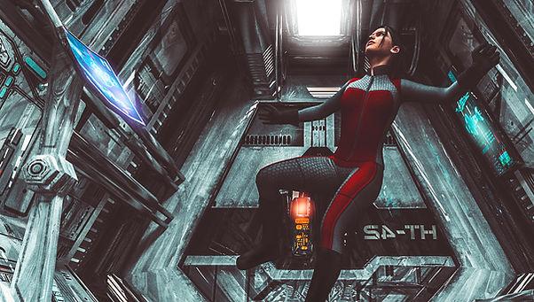 Galleggiando nello spazio