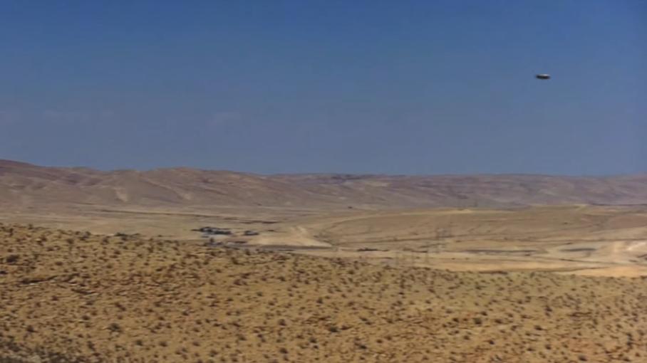 Flying saucer Area 51 Rachel Nevada July 2019
