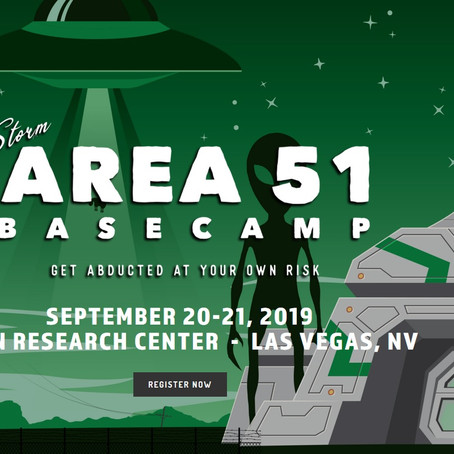 """Storm Area 51"" Event Comes in Peace..."