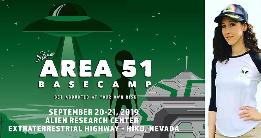 Area 51 Basecamp and UFOJane