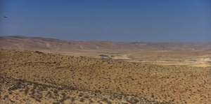 Flying saucer over Rachel Nevada July 2019