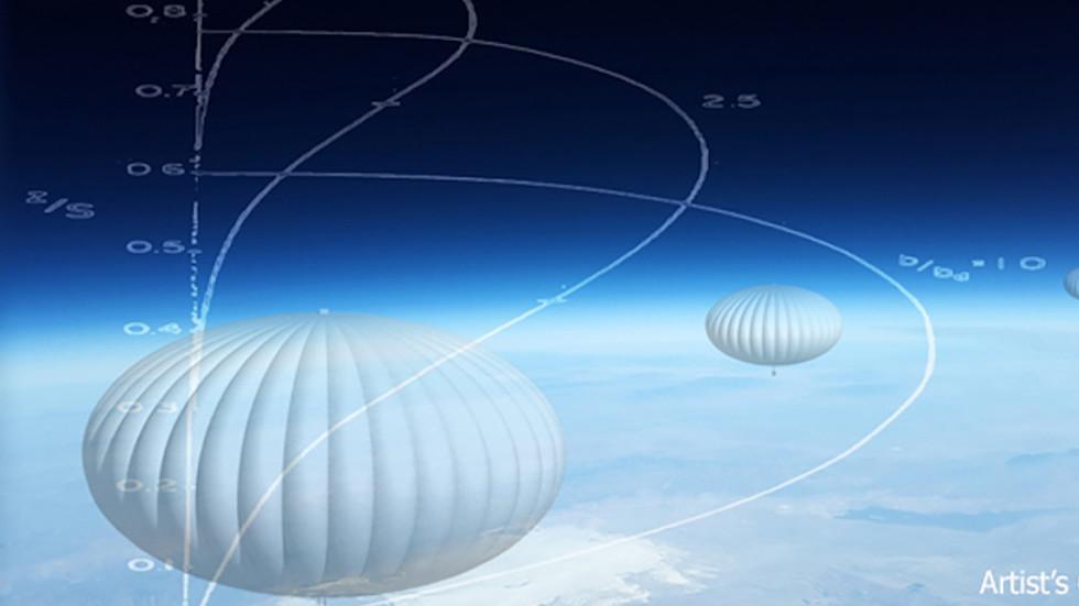 DARPA stratospheric balloons
