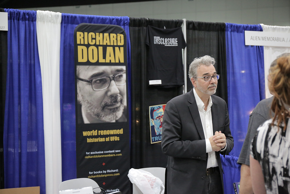Richard Dolan Alien Con marketplace