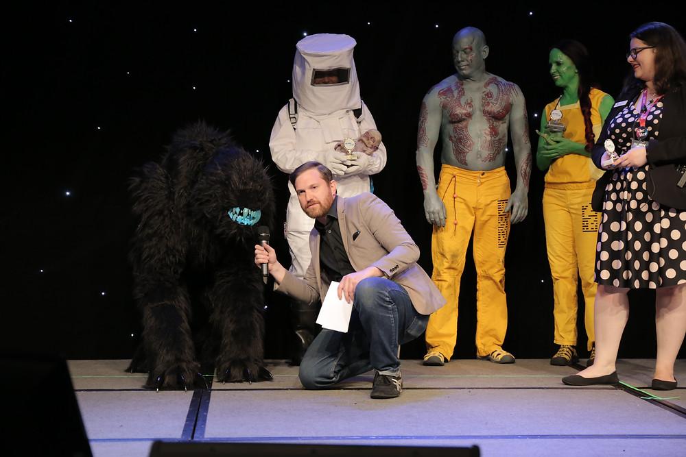 Bluetooth wins Alien Con costume contest