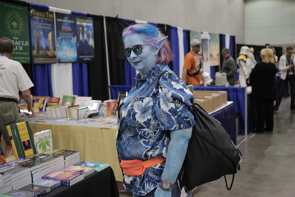 blue alien cosplay