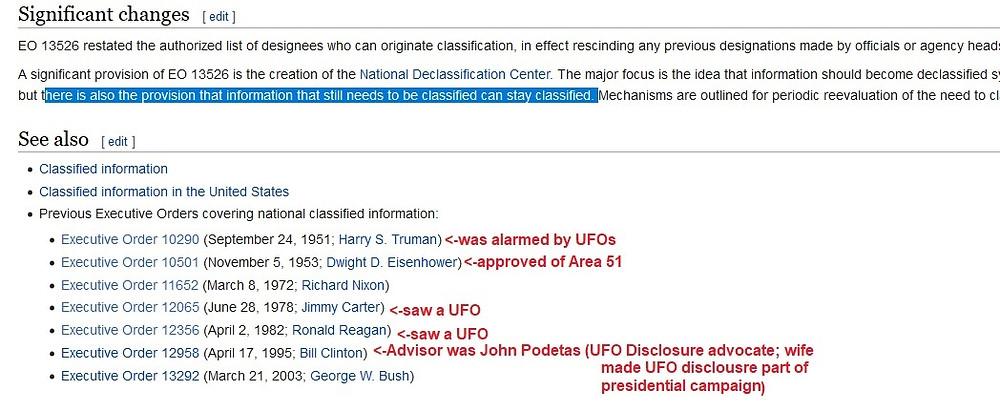 screenshot presidents executive orders