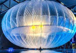 Google loon balloon
